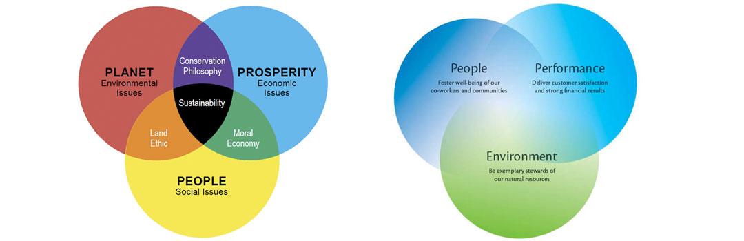 How to be an environmentally friendly and socially fair company