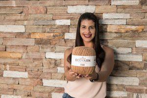 craft woman organic cotton Eco yarn